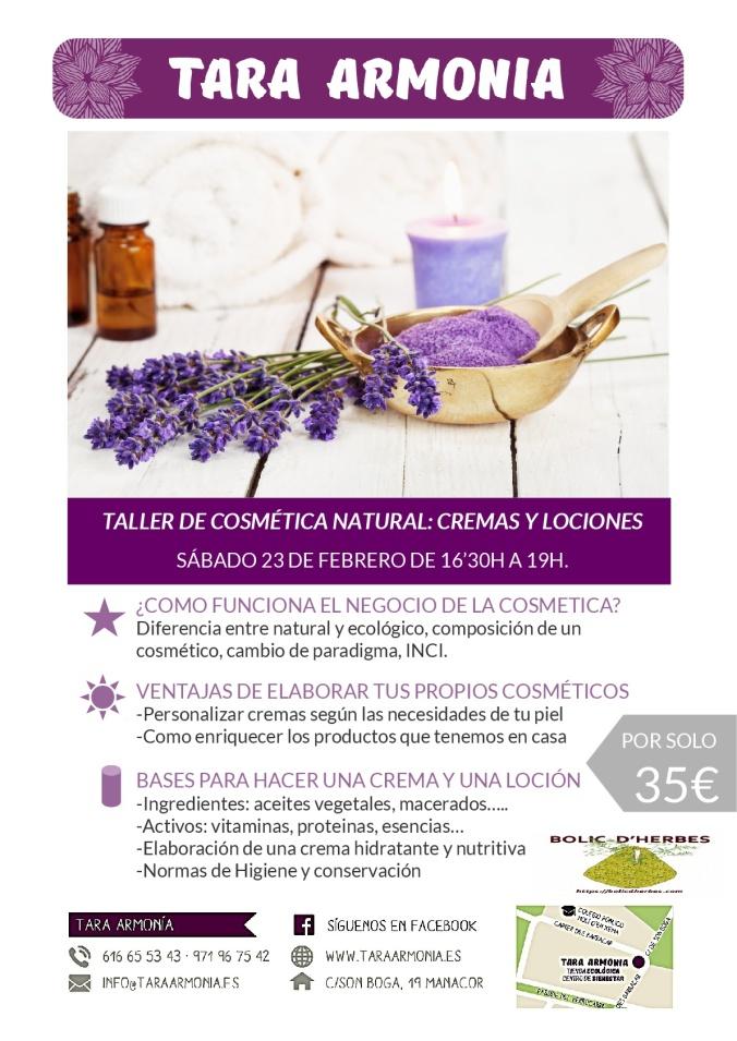 cartell cosmética natural-001